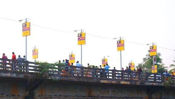 ഏനാത്ത് പാലം : റോഡിന്റെ വശങ്ങളിലെ കൈയേറ്റങ്ങള് നീക്കം ചെയ്യണം