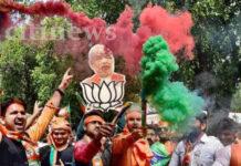 വോട്ടെണ്ണല് അവസാസ ഘട്ടത്തിലെത്തുമ്പോള് യുപിയിലും ഉത്തരാഖണ്ഡിലും ബിജെപി അധികരത്തിലേക്ക്