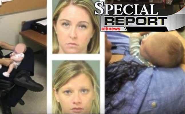 moms arrested
