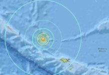 earthquake in america